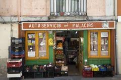 stary sklep spożywczy sklep Obrazy Stock