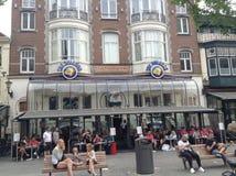 Stary sklep z kawą w holandiach Zdjęcia Royalty Free