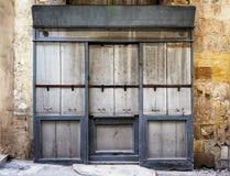 stary sklep z przodu Obraz Stock