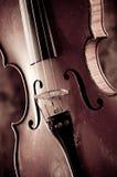 Stary skrzypce Fotografia Stock