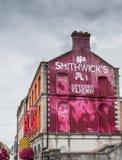 Stary Smithwick browar w Kilkenny Obrazy Royalty Free
