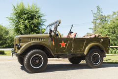 Stary sowieci GAZ samochód - 69 Fotografia Stock