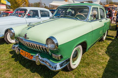Stary sowieci Volga M-21 rocznika 1959 samochód Fotografia Royalty Free