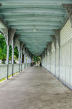 Stary spaceru sposób w uderzeniu w pałac, Tajlandia Obrazy Stock