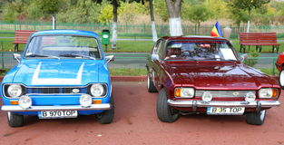 Stary sportów samochodów bród obraz stock