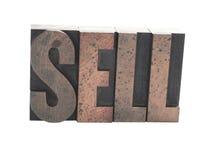 stary sprzedawać rodzajów drewna Fotografia Stock