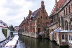 Stary St Johns szpital w Bruges Zdjęcie Stock