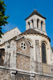 Stary St kościół Pierre De Montmartre, Paryż Obraz Royalty Free