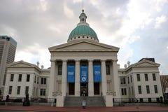Stary St Louis okręgu administracyjnego gmach sądu Obrazy Royalty Free