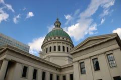 Stary St Louis okręgu administracyjnego gmach sądu Zdjęcia Royalty Free