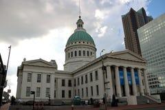 Stary St Louis okręgu administracyjnego gmach sądu Obraz Stock