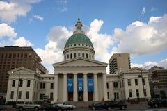 Stary St Louis okręgu administracyjnego gmach sądu Zdjęcie Stock