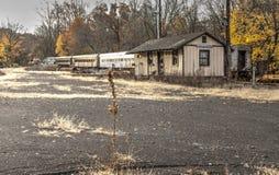 stary stacji pociągu Fotografia Royalty Free
