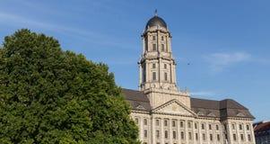 Stary stadthaus budynek w Berlin Germany fotografia stock