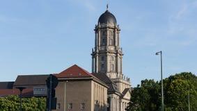 Stary stadthaus budynek w Berlin Germany zdjęcia stock
