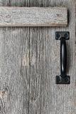 Stary stajni drewna drzwi Zdjęcia Royalty Free