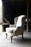 stary stajni krzesło Fotografia Stock
