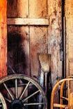 Stary stajni wnętrza tło Zdjęcia Royalty Free