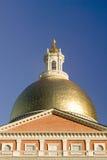 Stary stanu dom dla wspólnoty narodów Massachusetts, stanu Capitol budynek, Boston, msza Zdjęcia Royalty Free