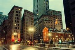 Stary stanu dom w Boston, usa Fotografia Royalty Free