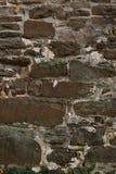 Stary starzejący się ściana z cegieł Obraz Stock