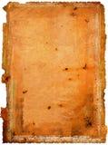 Stary starzejący się papier Zdjęcia Stock