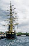 Stary statek wojenny Obraz Stock