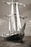 Stary statek z białymi sprzedażami Zdjęcia Stock