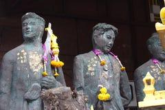 Stary statuaryczny przy Pattaya barem Fotografia Royalty Free