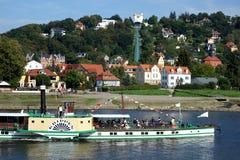 stary steamship Obrazy Stock