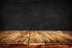 stary stołowy drewno Fotografia Royalty Free