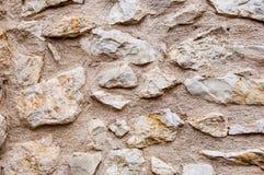 Stary stonewall dla tła Zdjęcia Stock
