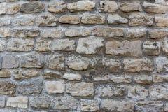Stary stonewall dla tła Obrazy Royalty Free