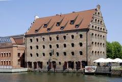 Stary storehouse Gdański w Polska Obraz Stock