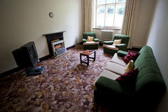 Stary stylowy żywy pokój Fotografia Stock