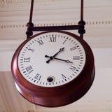 Stary sufitu zegar Zdjęcie Stock