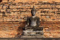 Stary Sukhothai Buddha Zdjęcie Stock