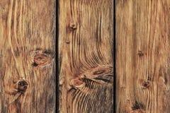 Stary Supłający Wietrzejący Sosnowy deski ogrodzenie - szczegół Zdjęcia Royalty Free