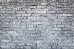 Stary szarości ściana z cegieł obraz stock