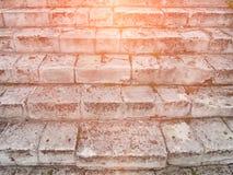 Stary Szary schody Schody Stare Szare cegły, rocznik Stairc Zdjęcie Royalty Free