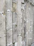 Stary Szary schody Schody Stare Szare cegły, rocznik Stairc Zdjęcie Stock