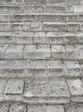 Stary Szary schody Schody Stare Szare cegły, rocznik Stairc Obraz Royalty Free