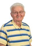 stary szczęśliwy mężczyzna Fotografia Royalty Free