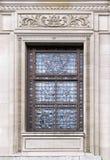 Stary szklany okno Zdjęcie Royalty Free