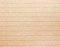 Stary szorstki prążkowany notatnika papieru tło Zdjęcia Stock