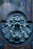 stary sztuki pełnoletni drzwi Zdjęcia Stock