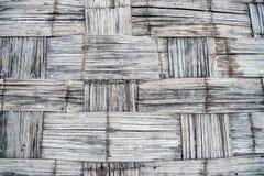 stary tło bambus Bambusowa rattan tekstura, tło i Tkana bambusowa tekstura dla tła Obraz Stock