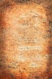 Stary talerz z tekstur muśnięć brąz Zdjęcie Stock