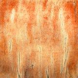 Stary talerz z tekstur muśnięć tła pomarańcze Obrazy Royalty Free