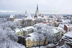 stary Tallin miasta Zdjęcie Stock